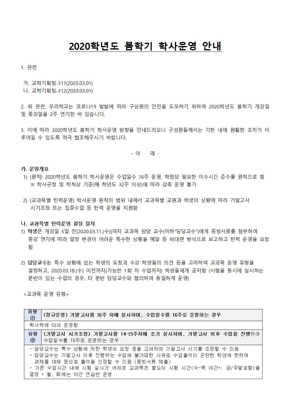 2020학년도 봄학기 학사운영 안내001.jpg
